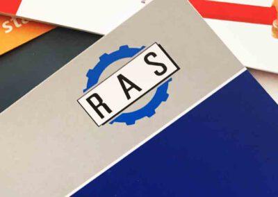 Firmenprospekt für RAS Reinhardt Maschinenbau GmbH